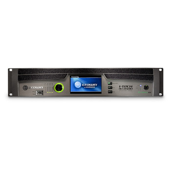 CROWN I-Tech 4x3500HD - Four-channel, 4000W @ 4Ω Power Amplifier (Binding Post Version)