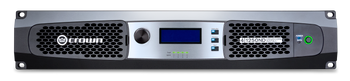 CROWN DCi 4|1250ND Four-channel, 1250W @ 4Ω Power Amplifier with AVB, 70V/100V FRONT VIEW