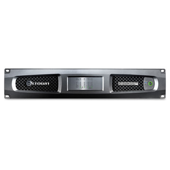 CROWN DCi 4|1250N Four-channel, 1250W @ 4Ω Power Amplifier with BLU Link, 70V/100V FRONT VIEW