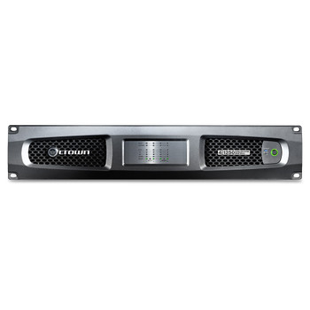 CROWN DCi 4|1250 Four-channel, 1250W @ 4Ω Analog Power Amplifier, 70V/100V FRONT VIEW