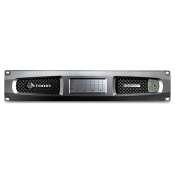 CROWN DCi 8|300 Eight-channel, 300W @ 4Ω Analog Power Amplifier, 70V/100V front view