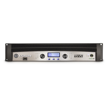 I-Tech 12000HD two channel amplifier front view