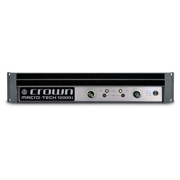 MA12000i two channel amplifier front view