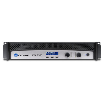 CDi2000 two channel amplifier front view