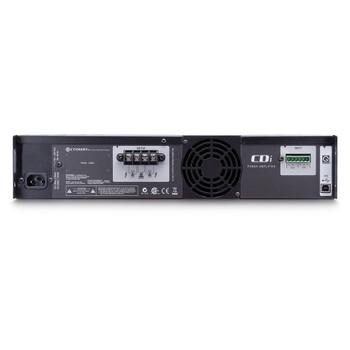CDi2000 two channel amplifier rear view