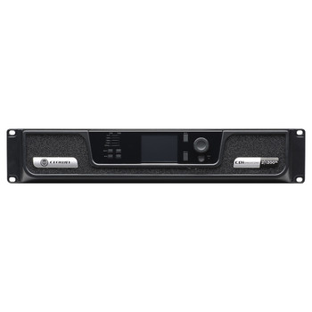 CDi 2|1200BL two channel amplifier with BLU Link front view