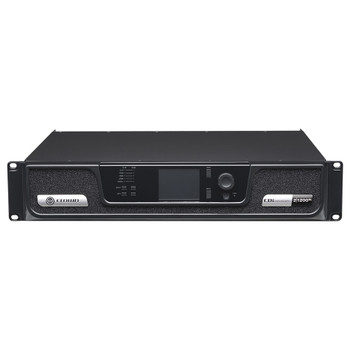 CDi 2|1200BL two channel amplifier with BLU Link front top angle view