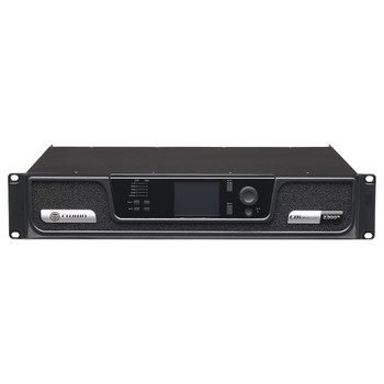 CDi 2|300BL two channel amplifier with BLU Link CDi 2|300BL two channel amplifier with BLU Link front top angle view