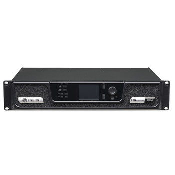 CDi 2|300 two channel amplifier front top angle view