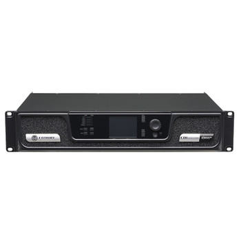 CDi 2|600BL two channel amplifier with BLU Link front top angle view