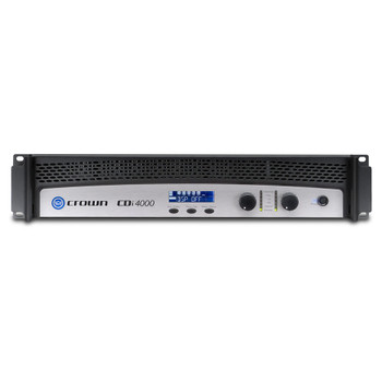 CROWN CDi4000 - Two-channel, 1200W @ 4Ω, 70V/140V Power Amplifier