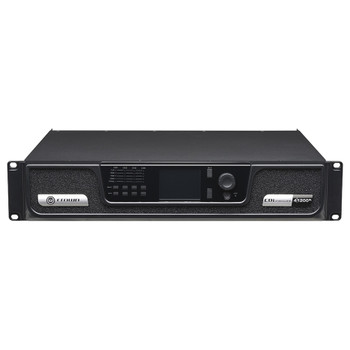 CDi 4|1200BL 4 channel amplifier with blu link front top angle view