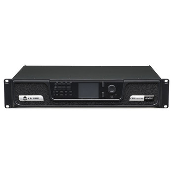 CDi 4|300BL amplifier with blu link front top angle view