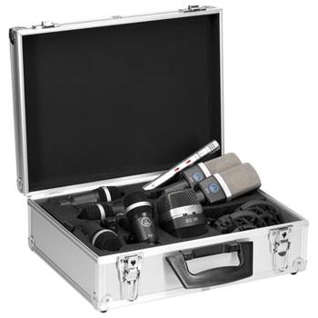 AKG DRUMSET PREMIUM Instrument Microphone Set In Case