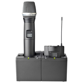 AKG CU4000 for HT4500 and PT4500 transmitters and SPR4500 IEM receiver with handheld mic and beltpack