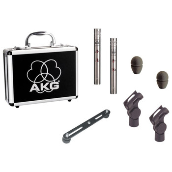 AKG C451 B MATCHED PAIR Stereo Set Out of Case