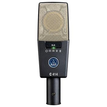 AKG C414 XLS Large diaphragm studio microphone Front