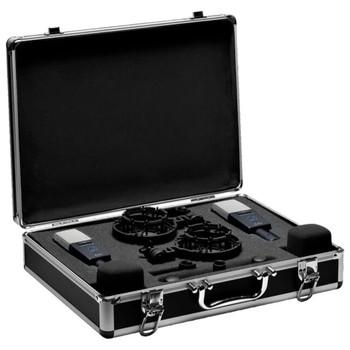 AKG C414 XLS MATCHED PAIR Studio Condenser Microphones In Case