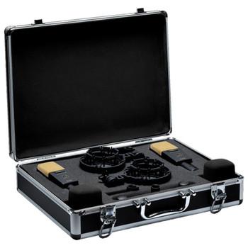 AKG C414 XLII MATCHED PAIR Studio Condenser Microphones In Case