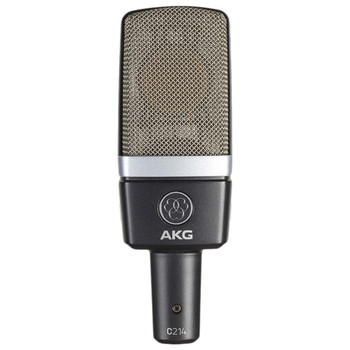 AKG C214 Studio Condenser Microphone Front