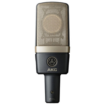 AKG C314 Professional multi-pattern condenser microphone Front