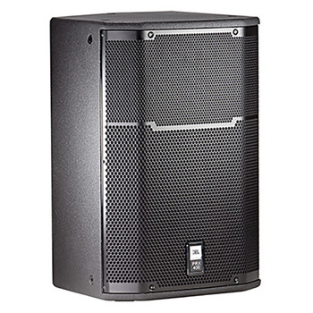 PRX415M  Two-Way Black Utility/Stage Monitor Loudspeaker System front view
