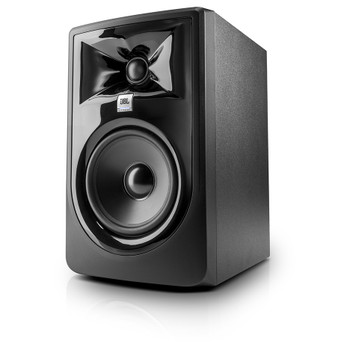 "JBL 305P MkII Powered 5"" Two-Way Studio Monitor front view"