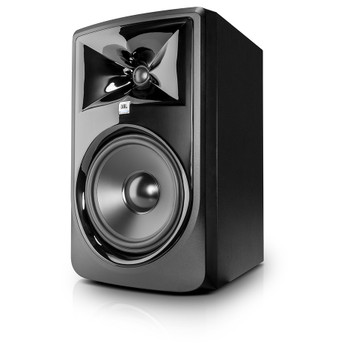 """JBL 308P MkII Powered 8"""" Two-Way Studio Monitor front view"""