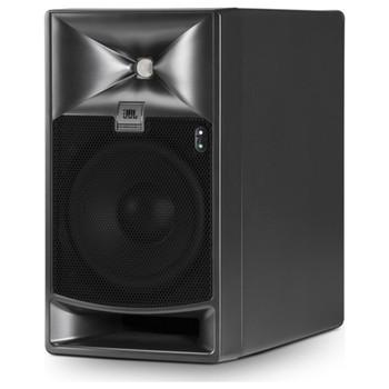 JBL-705P-self-powered-reference-monitor-Angle-EMI-Audio