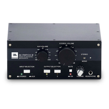 JBL MPATCH2Passive Stereo Controller / Input / Output Switcher