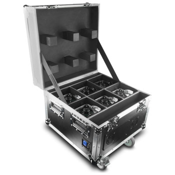 CHAUVET PRO Well Fit 6-Pack with Charging Road Case