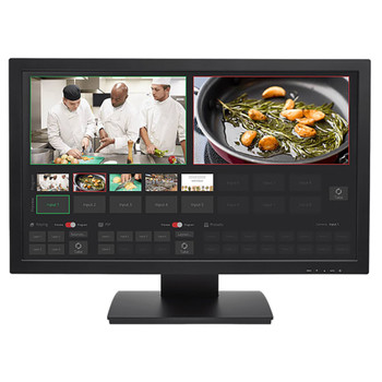 """TeleTouch 27"""" USB Touch-Screen Multiviewer front"""