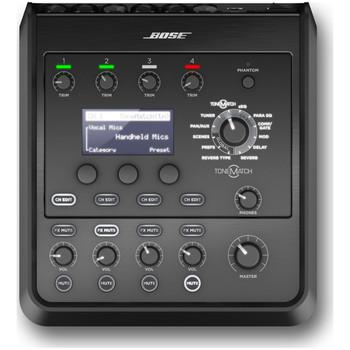 BOSE-T4S-ToneMatch-Compact-4-Channel-Digital-Mixer-Top-EMI-Audio