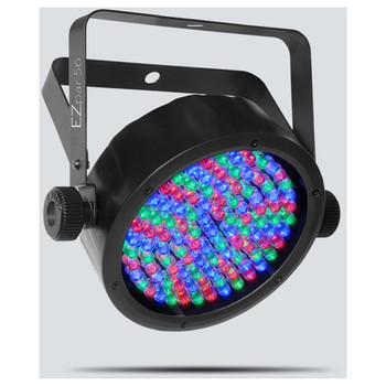 CHAUVET EZpar 56 wash light with rechargeable lithium-ion battery front/left view