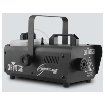 CHAUVET Hurricane 1000 Compact, lightweight fog machine front/left view of machine