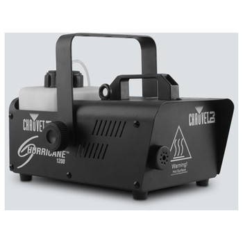 CHAUVET Hurricane 1200 Compact and lightweight fog machine front/left view black