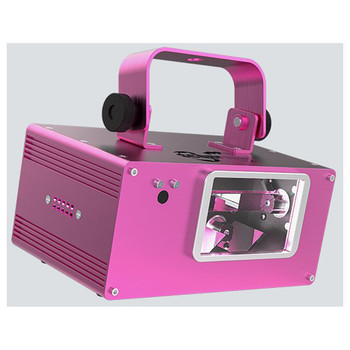 CHAUVET Scorpion Dual RGB FAT BEAM™ aerial effect laser front/left view with handle up pink