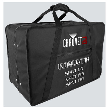 CHAUVET VIP Carry Bag Fits: (x2) Intim Spot 110, 155, 160 front/left view showing depth and zipper