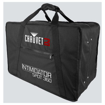 CHAUVET VIP Carry Bag Fits: Intim Spot 360 front/right view showing depth and side zipper