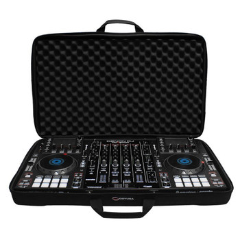 LARGE Size DJ Controller / Utility EVA Molded Universal Carrying Bag BMSLDJCL open bag with equipment