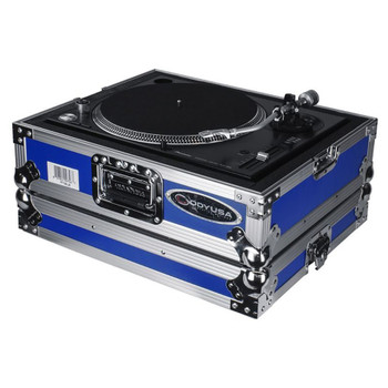 Odyssey Universal Blue Turntable Case - FTTXBLUE open case