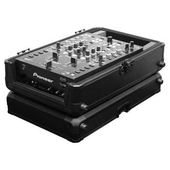 KROM Series Black Universal 10″ Format DJ Mixer Carrying Case K10MIXBL open case