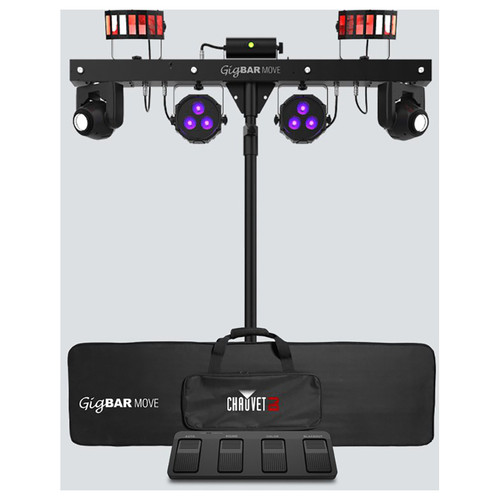 GigBAR Move with stand, carrying case, foot switch