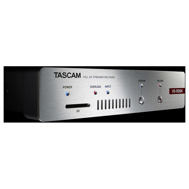 Tascam VS-R264 Front Black EMI Audio