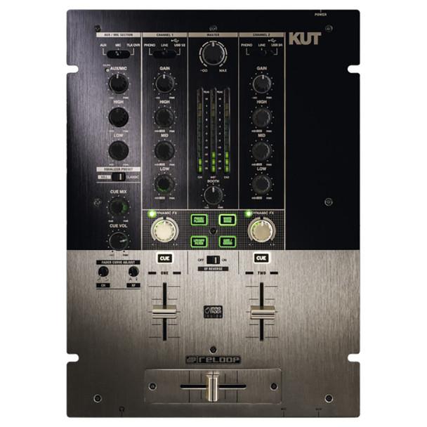 RELOOP KUT DJ Mixer w/USB interface Battle FX