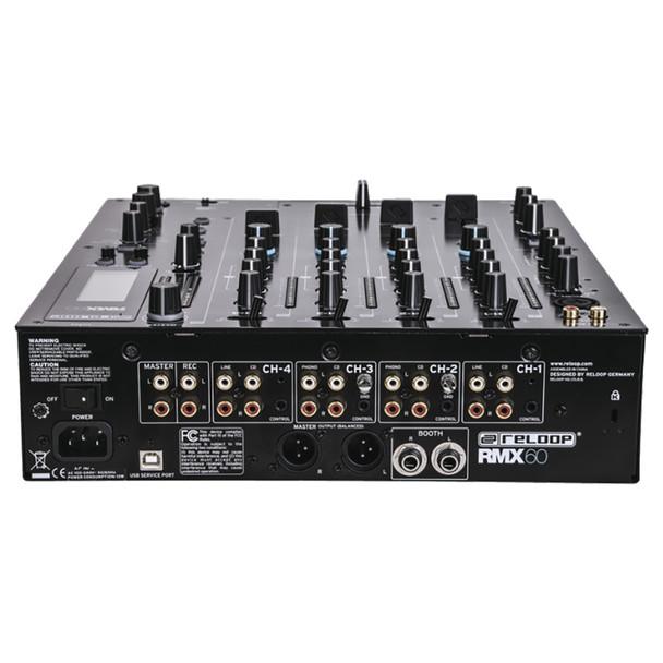 RMX-60 DIGITAL - Rear Panel