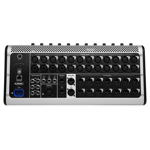QSC TouchMix 30 Pro Touch Screen Digital Audio Mixer Inputs/Outputs