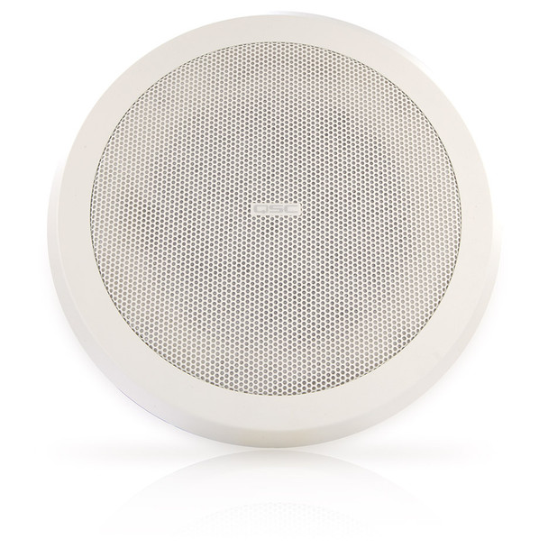 QSC AD C821R SYSTEM 8 inch round High power blind mount coaxial ceiling speaker. EMI Audio
