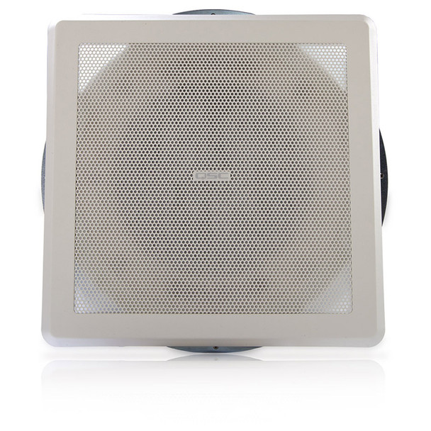 QSC AD C821S SYSTEM 8 inch square High power blind mount coaxial ceiling speaker. EMI Audio