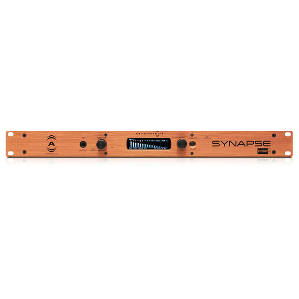 QSC D32o 32 Channel Line Out Dante/AES67 Interface, 1RU   Front